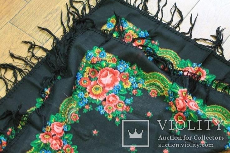 Шерстяной платок №57, фото №9