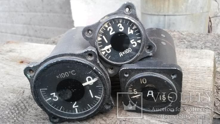 Приборы измерения от самолёта Ту-154, фото №2