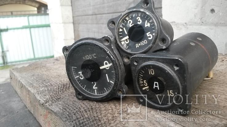 Приборы измерения от самолёта Ту-154, фото №3