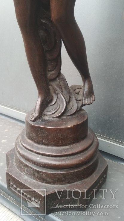 Две большие бронзовые фигуры ,клейма., фото №9