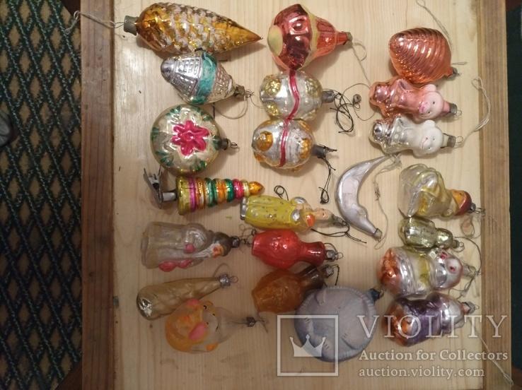Игрушки на елку одним лотом, фото №12