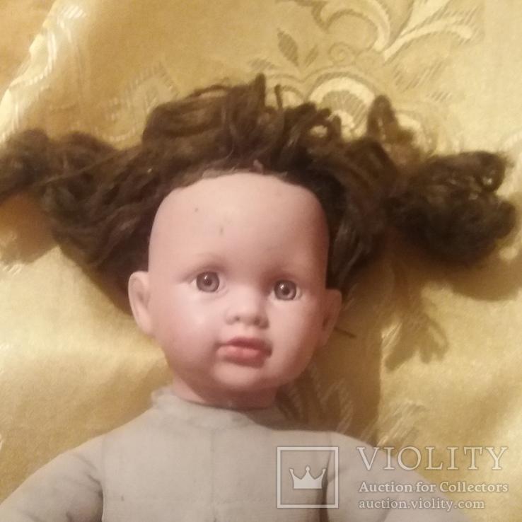 Паричковая кукла на шарнирах.
