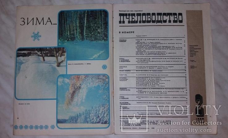 Пчеловодство №2 1980 г. журнал, фото №5