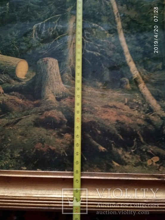 Репродукция Валка леса, фото №7