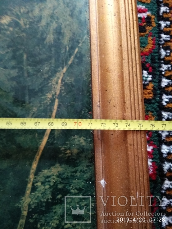 Репродукция Валка леса, фото №8