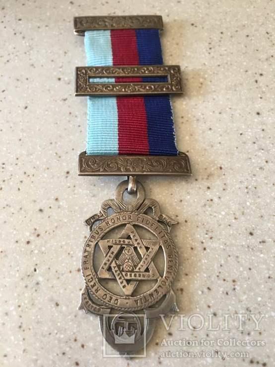 Наградная масонская медаль