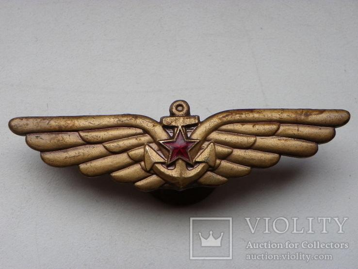 Летчик палубной авиации Военно-морского флота ВМФ