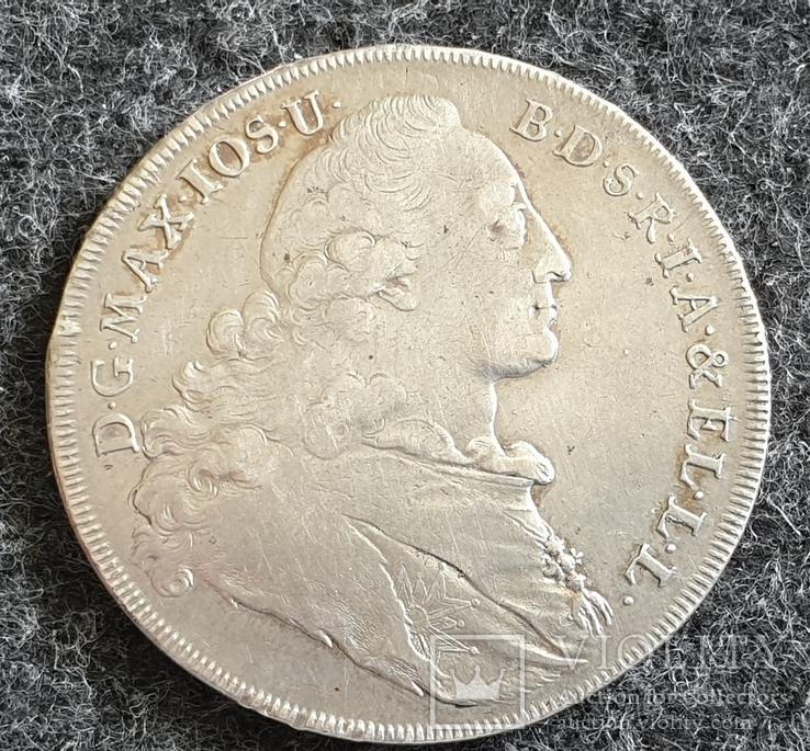 Талер Бавария-Мадона 1771