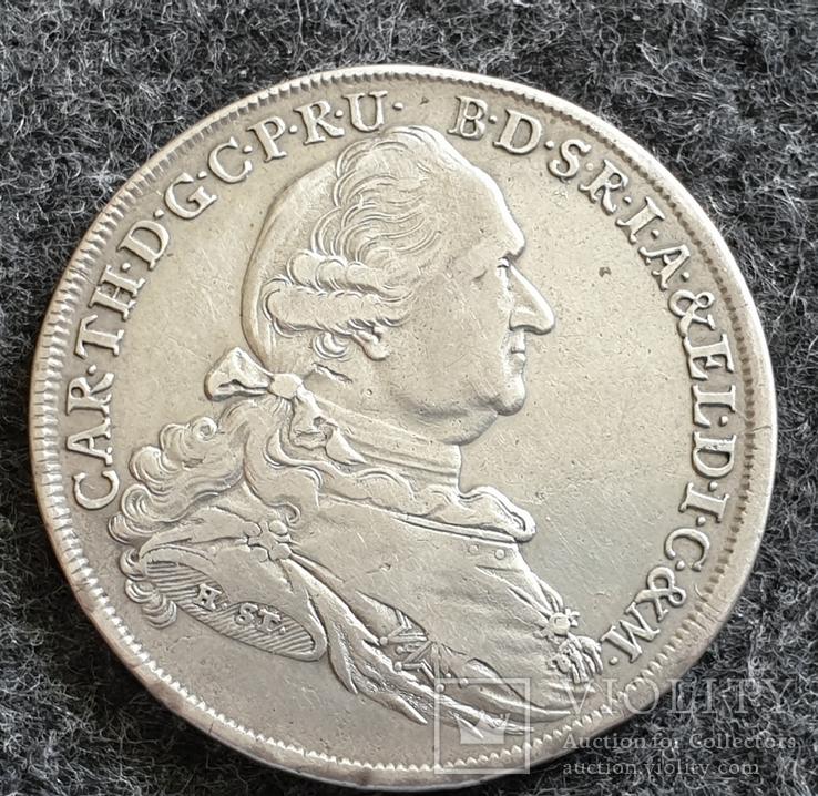 Талер Бавария-Мадона 1778