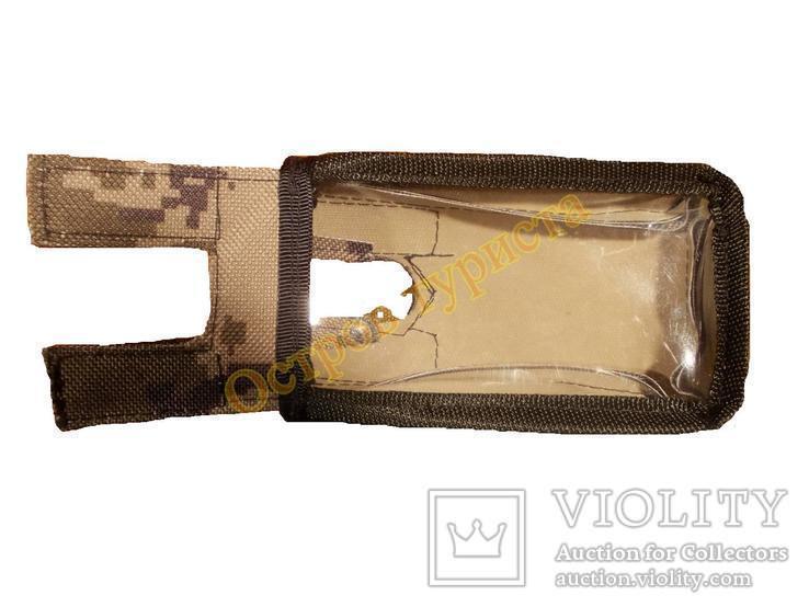 Каплезащитный чехол на блок металлоискателя металлодетектора  для XP Deus камуфляжный, фото №4