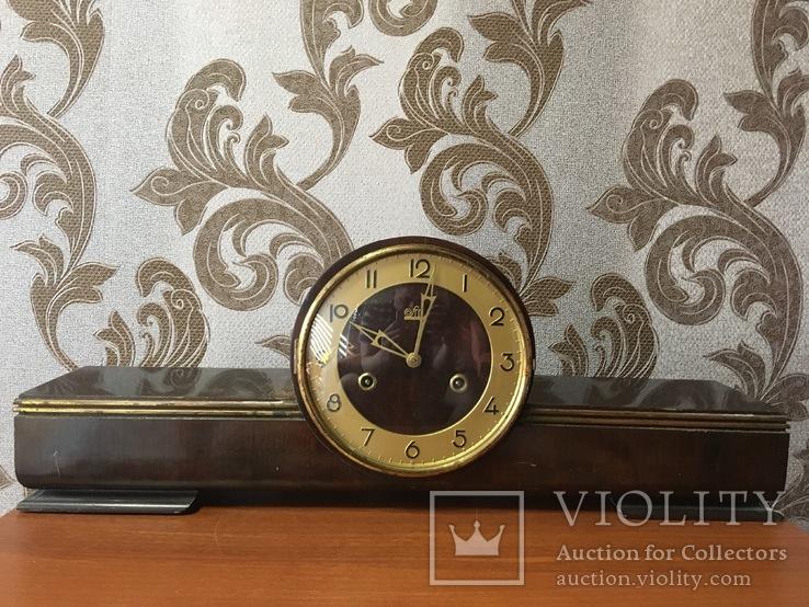 №0005 FM Sonneberg с боем и маятником каминные часы