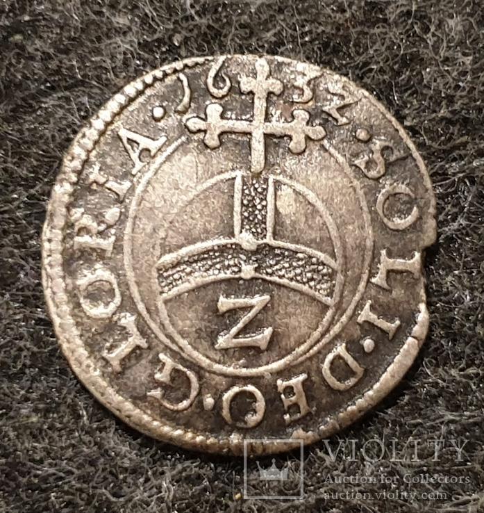 1/2 батцена 1632 Бавария (2 крейцера)