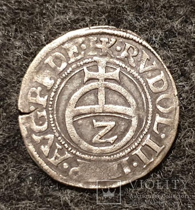 1/2 батцена 1580 Пфальц-Вельденц (2 крейцера)