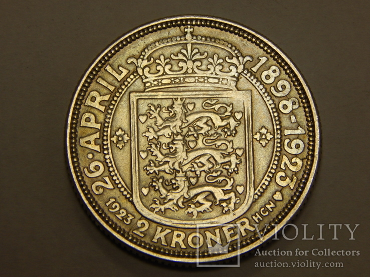 2 кроны, 1923 г Дания