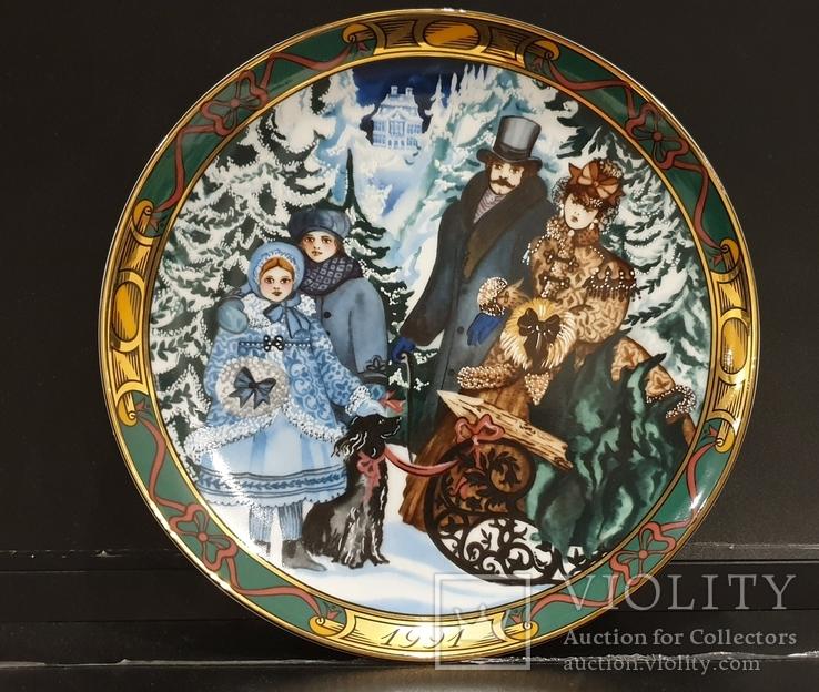 Коллекционая тарелка