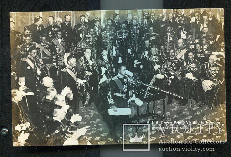 Япония принц Эйсихито визит в Лондон до 1939 г №2, фото №2