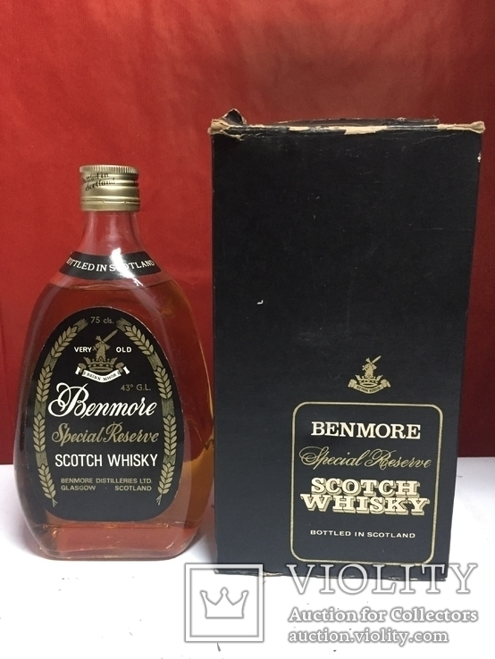 Whisky Benmore Special Riserve 75 cls, 43 vol