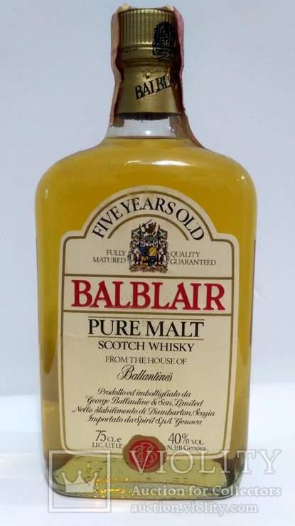 Balblair 5 Year Old Pure Malt Scotch Whisky 75cl. 40%vol. 90-s
