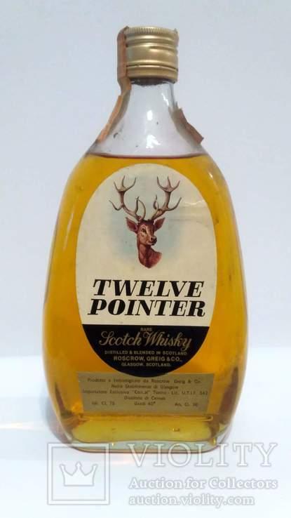 Twelve Pointer Scotch Whisky 1970s Cl.75 Gr. 40