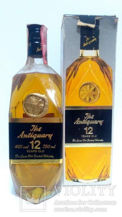The Antiquary De Luxe Old Scotch Whisky GR.40% Cl.75