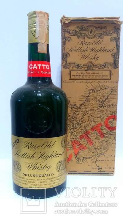 Catto Rare Old Scottish Highland Whisky 43.0 % Vol. 750 ml 70-s+BOX