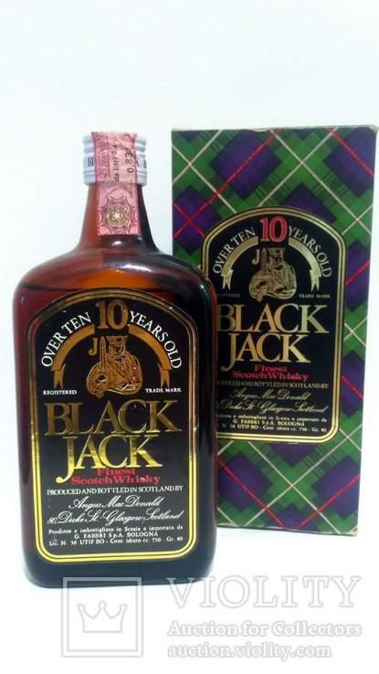 Black Jack 10-year-old Finest Scotch Whisky 40.0 % Vol. 750 ml 70-s+BOX
