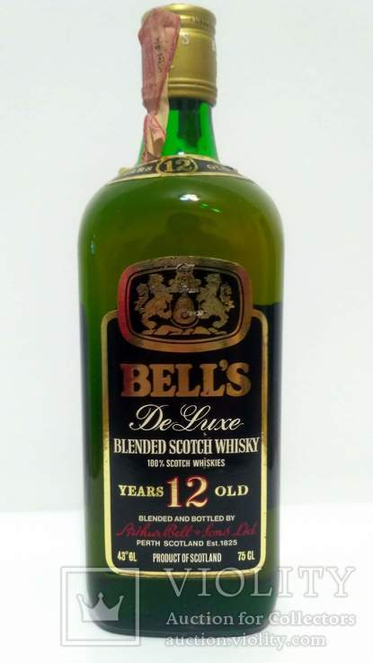 Bell's De Luxe 12 Year Old Bot.1970s. 75cl / 43%. Blended Scotch Whisky