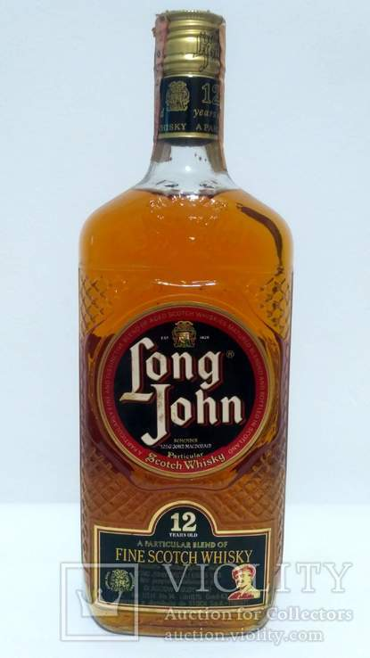 Long John 12 Year Old Blend 1970s L.750ml Gr.43
