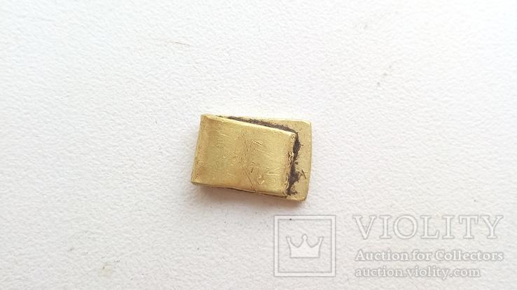 Золото ЧК. 1,8 гр.