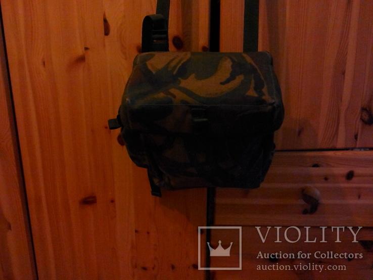 Британская сумка для противогаза DPM, фото №3