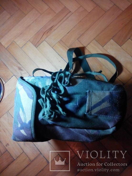 Британская сумка для противогаза DPM, фото №8