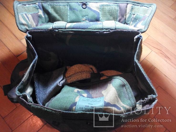 Британская сумка для противогаза DPM, фото №10