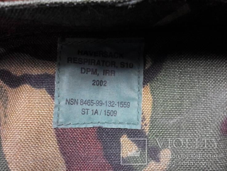 Британская сумка для противогаза DPM, фото №11
