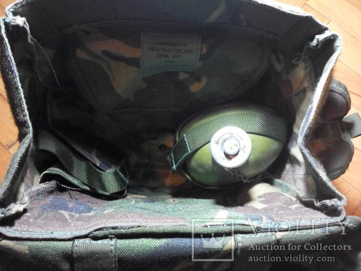 Британская сумка для противогаза DPM, фото №12