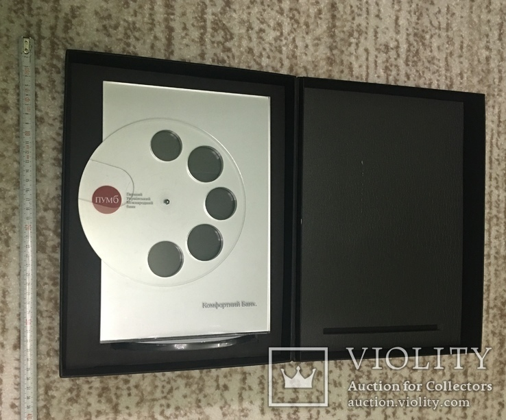 Фирменная оригинальная подставка для набора всех жетонов банка ПУМБ, фото №4