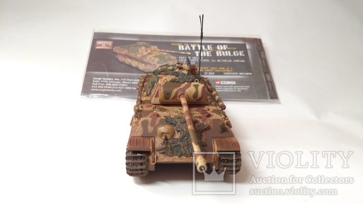 Panther Tank AUSF - Battle of the Bulge  1:50, CORGI, фото №2