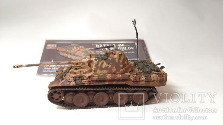 Panther Tank AUSF - Battle of the Bulge  1:50, CORGI, фото №3