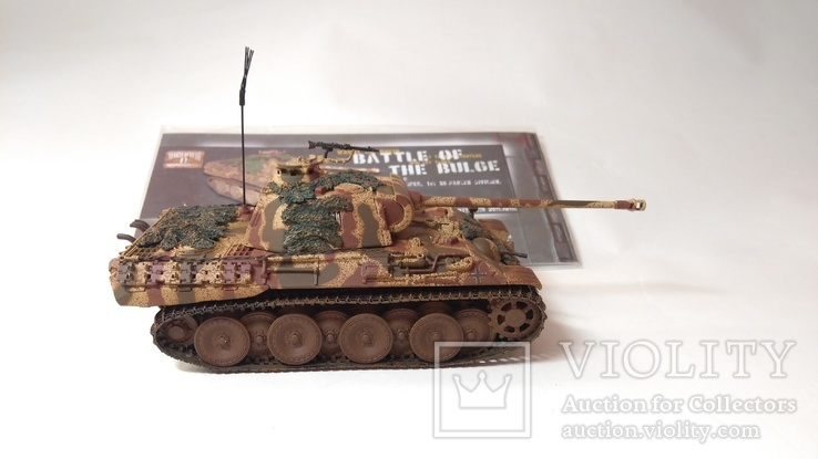 Panther Tank AUSF - Battle of the Bulge  1:50, CORGI, фото №5