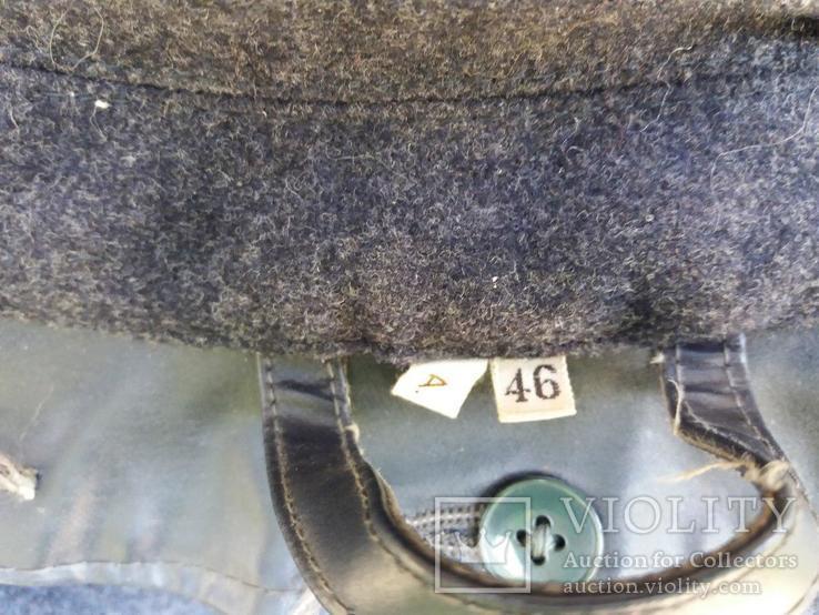 Прорезиненный армейский плащ, фото №9