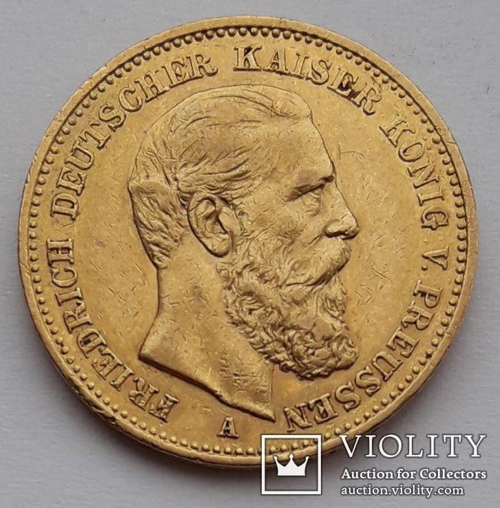 20 марок Пруссия  1888 г.