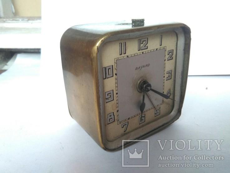 Часы - Будильник  Bayard. Франция