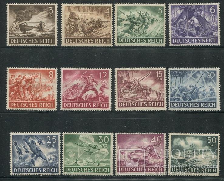1943 Рейх вермахт войска полная серия