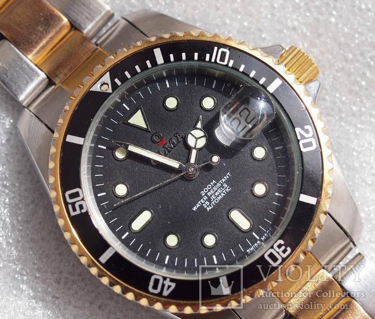 Часы Olma Diver, механика ETA, винтаж, Swiss Made