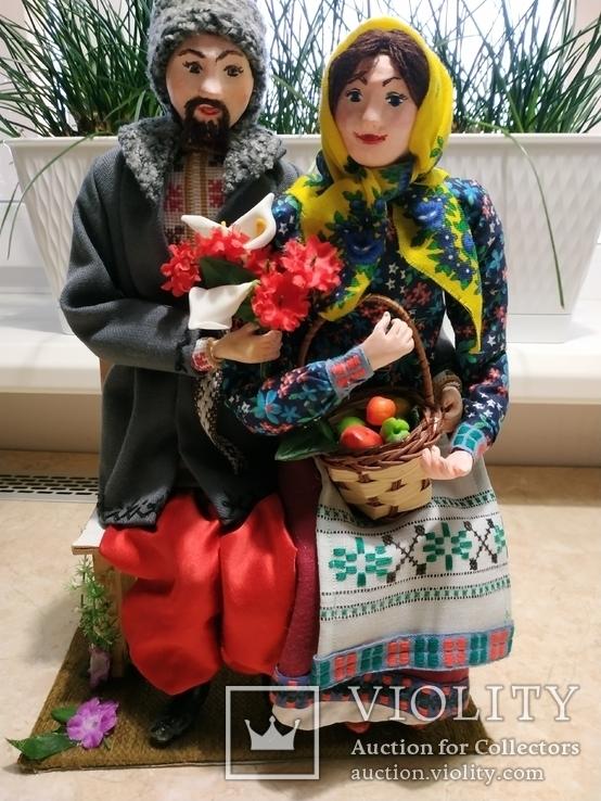 Интерьерно - коллекционная кукла ручной работы, фото №2