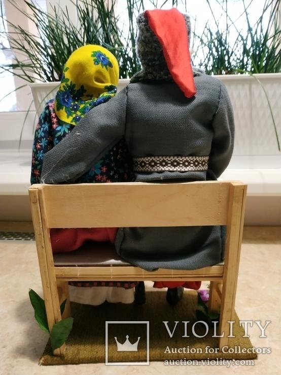 Интерьерно - коллекционная кукла ручной работы, фото №4