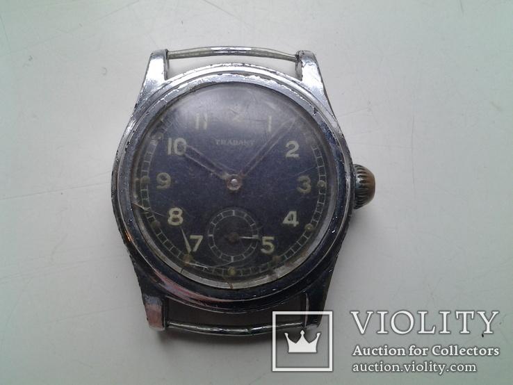Часы немецкие трофейные Trabant, фото №2