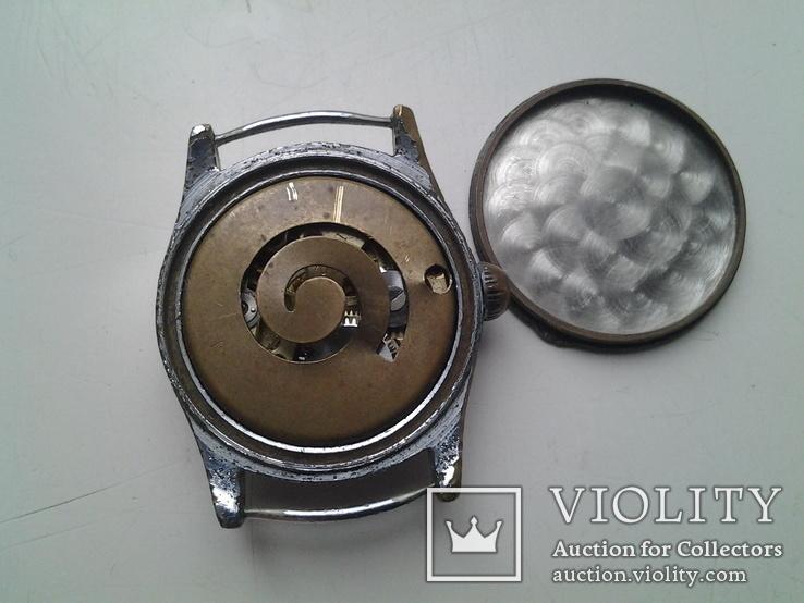 Часы немецкие трофейные Trabant, фото №6