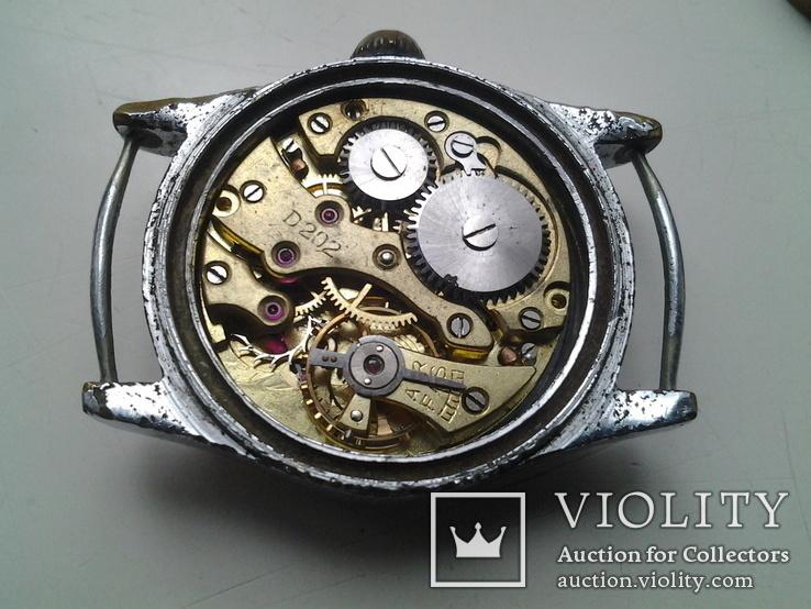 Часы немецкие трофейные Trabant, фото №8