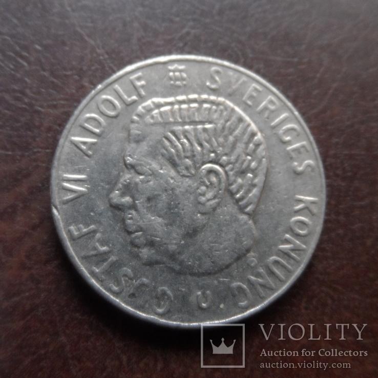 1 крона 1973  Швеция   (U.3.22)~, фото №2