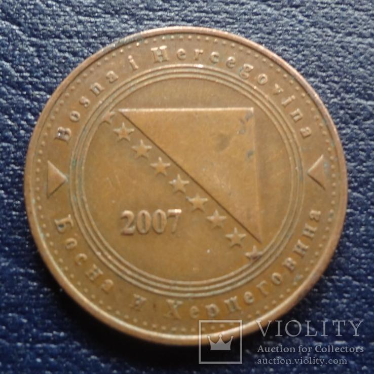 50 феннигов 2007 Босния и Герцеговина     (U.5.7)~, фото №3